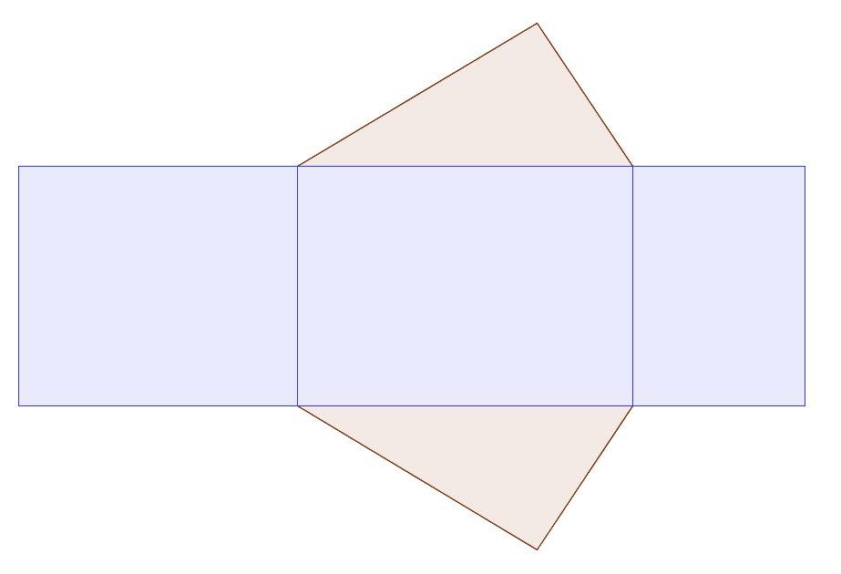 netz eines gleigschenkligem dreiecksprisma zeichnen mathelounge. Black Bedroom Furniture Sets. Home Design Ideas