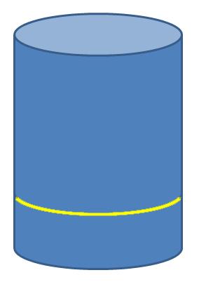 14 cm umfang in durchmesser