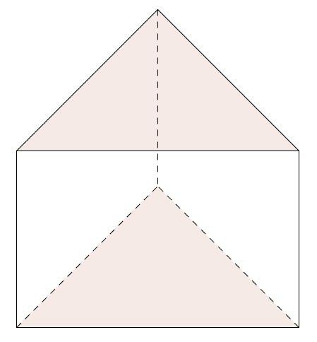 volumen dreiseitiges prisma