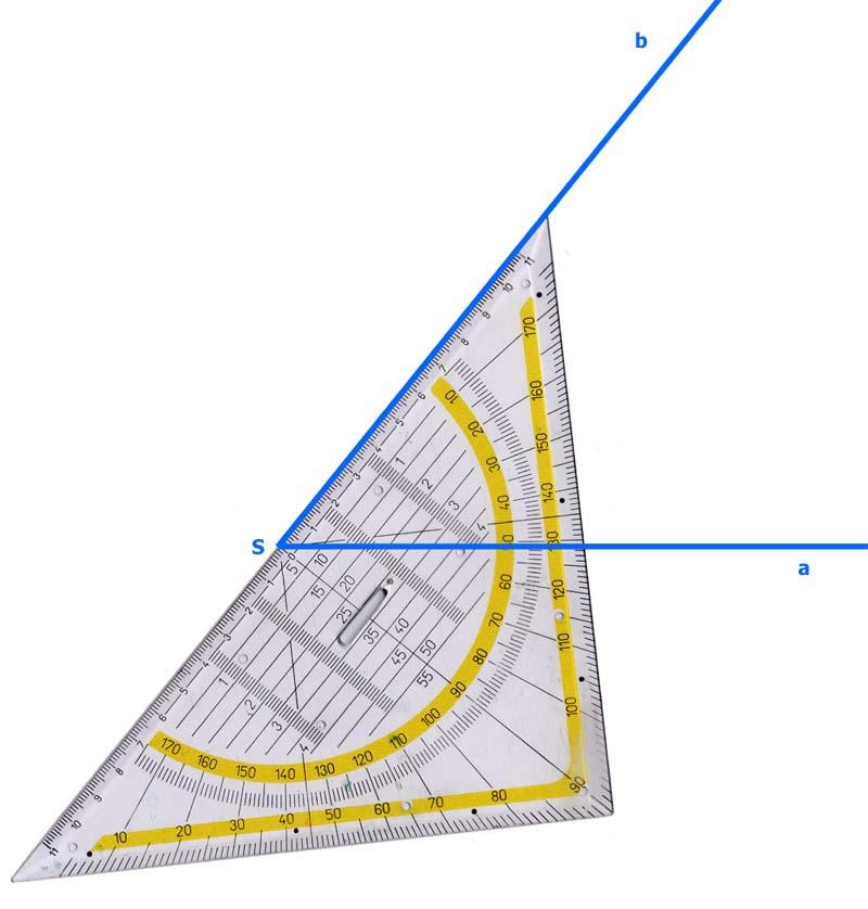 Winkel zeichnen